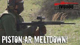 Ultimate Piston AR-15 Meltdown!