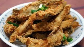 香港食譜: 酥炸九肚魚