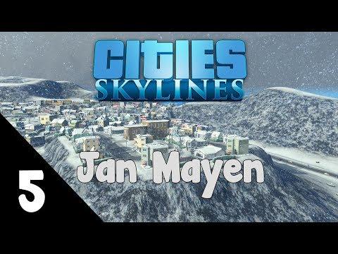 Cities: Skylines - Jan Mayen episode 5