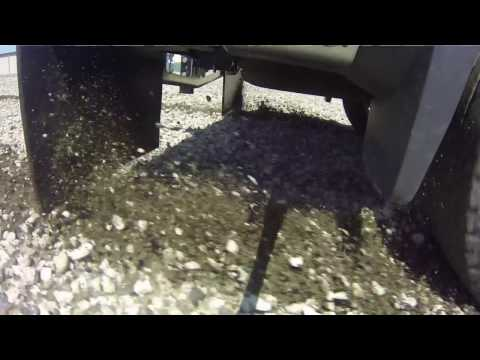 ROCKSTAR™ Hitch Mounted Mud Flaps Testing