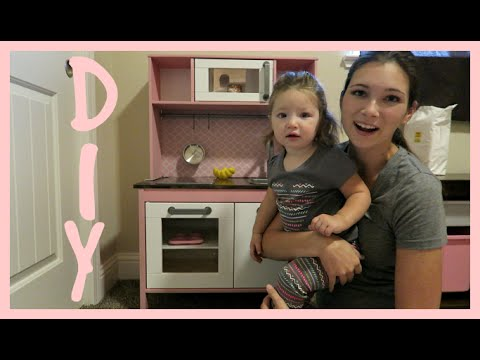 simply motherhood diy ikea play kitchen hack