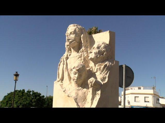 Cartaya Tv | Monolito en reconocimiento al pueblo de Cartaya durante la pandemia