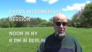Esperanto Summer Course online // Video Interrupted!