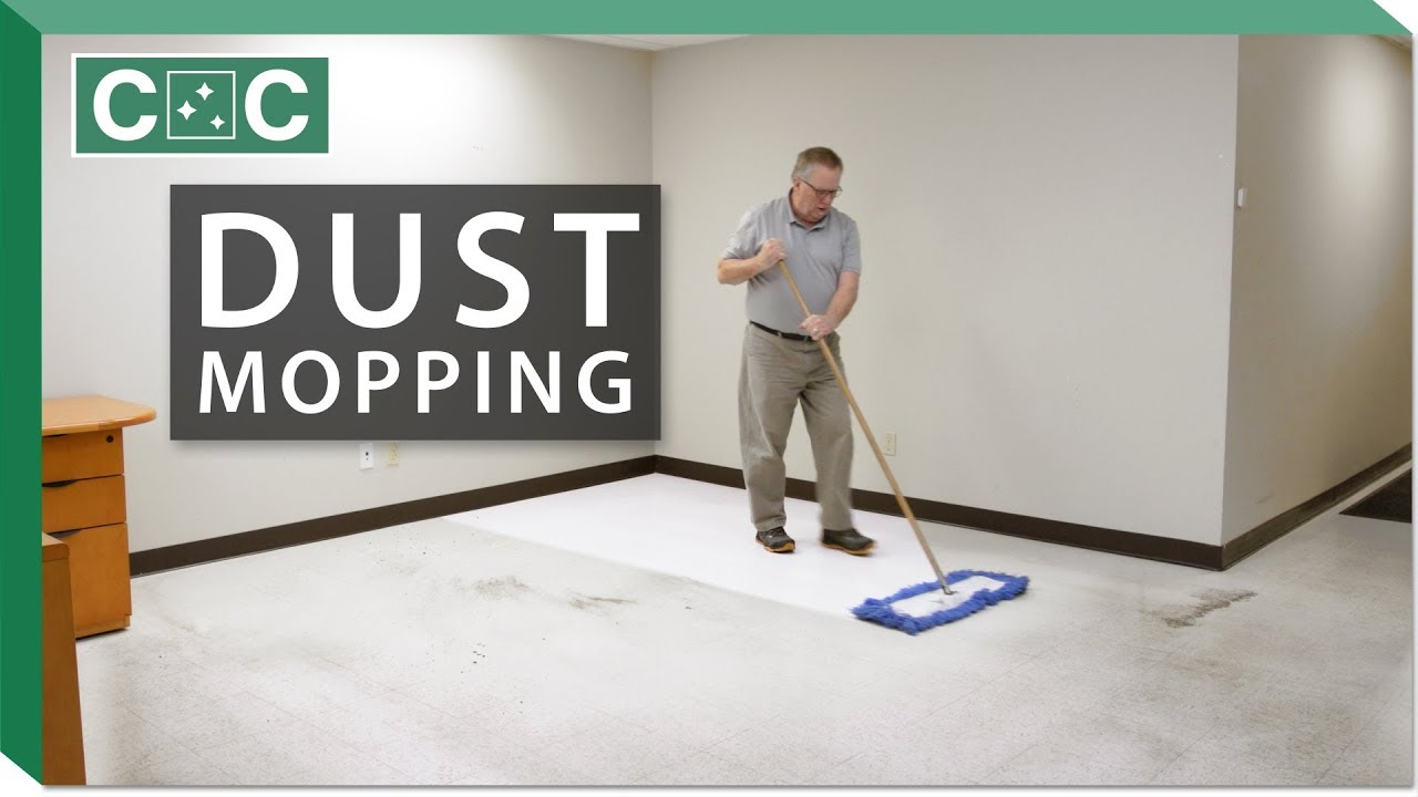 How to Dust Mop a Floor | Clean Care