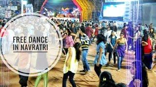 Navratri full free dance 2k17 hanman mandir umbergaon