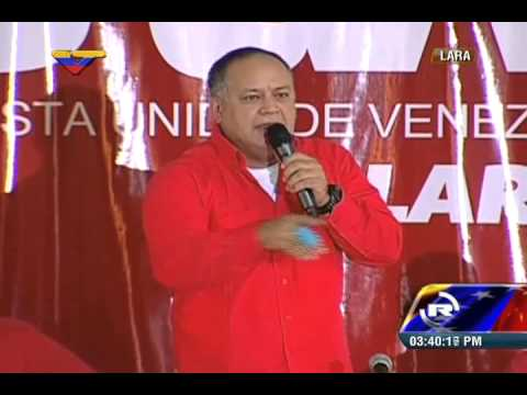 Respuesta de Diosdado Cabello ante sanciones de Barack Obama, 9 de marzo 2015