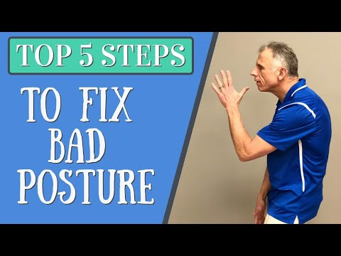 Top 5 Critical Steps To Fix Crappy, Terrible Posture + Giveaway