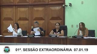 Sessão Extraordinária 07.01.19