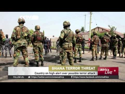 Ghana on high alert over possible terror attack