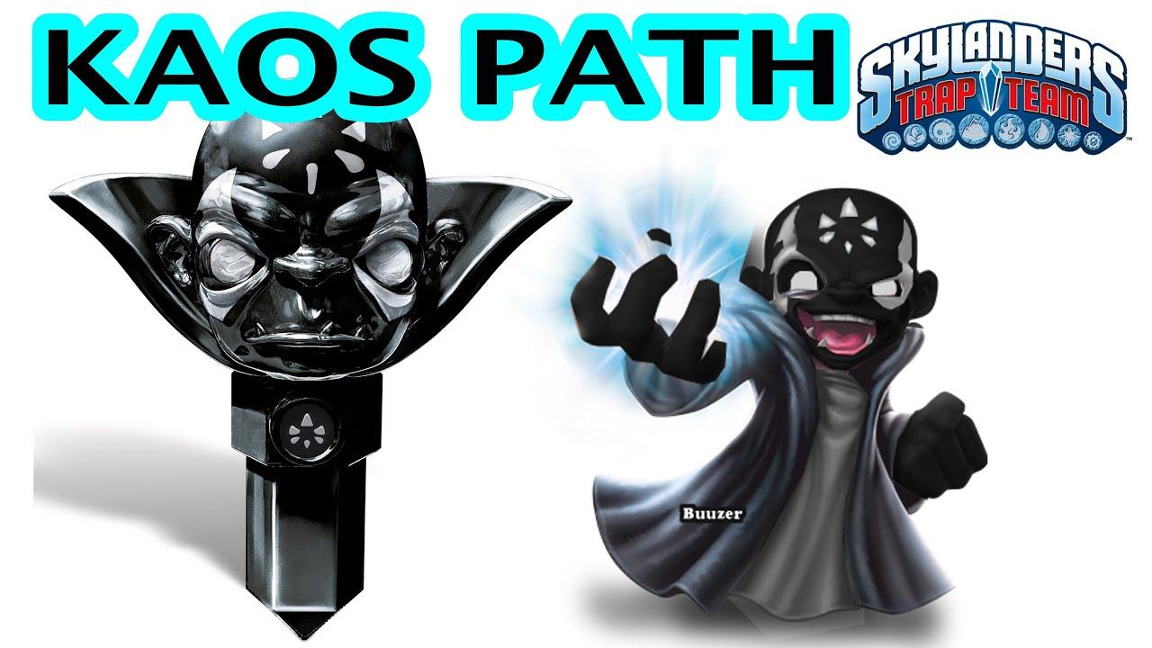 Skylanders Trap Team... Kaos Path upgrade??? - YouTube