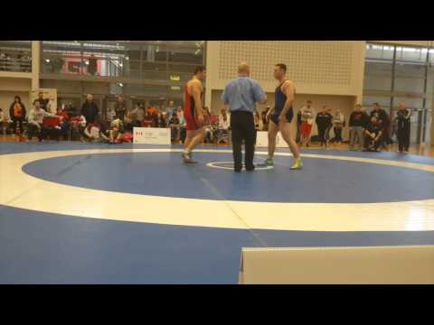 2015 Senior Greco-Roman National Championships: 98 kg Ruslan Bollaev vs. Alex Thoms