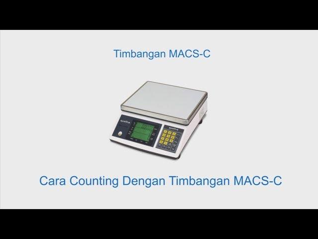 Hitung Jumlah Pcs Tanpa Hitung Manual -  Quattro MACS-C
