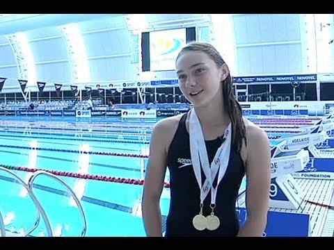 Champion Paralympic Swimmer Maddison Elliott