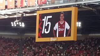 에레디비시 18-19 아약스 18-19 리그 첫경기 직관!! vs 헤라클레스: 18-19 Eredivisie Ajax vs Heracles Almelo
