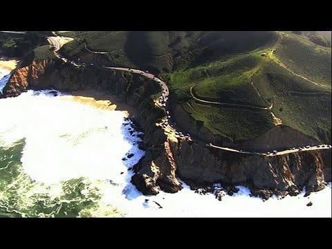 Crews Rescue Man After Minivan Drives off Cliff