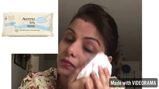 Baby wipes for makeup removal or face clean up( no harmful ingredients)