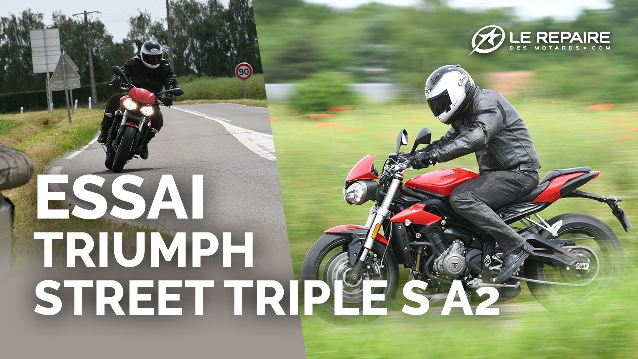 Essai Triumph Street Triple S A2 Youtube