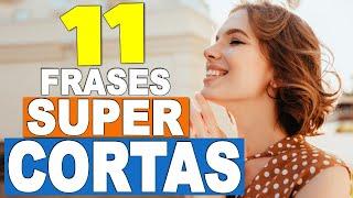 11 MEJORES FRASES CORTAS en INGLÉS!