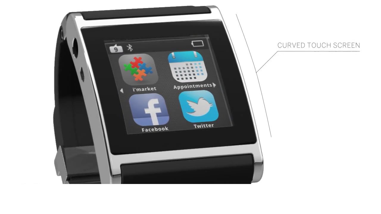 The World's First Smartwatch - I'm Watch