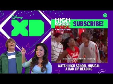 Breaking Free | Bad Lip Reading and Disney XD Present: High School Musical | Disney XD