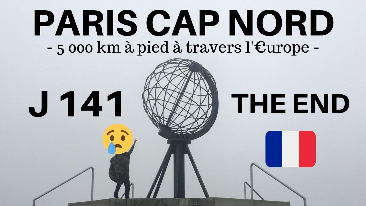 5 000 KM DE PARIS A CAP NORD : L'ARRIVÉE