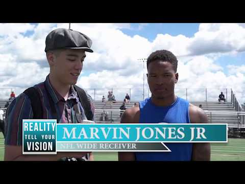 Reality Tell Your Vision: Marvin Jones Jr. ProCamp (full interview)