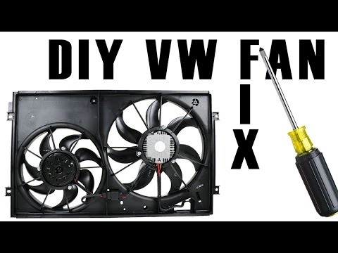 Fix a VW Engine/AC Fan [HOW TO/DIY] 2018