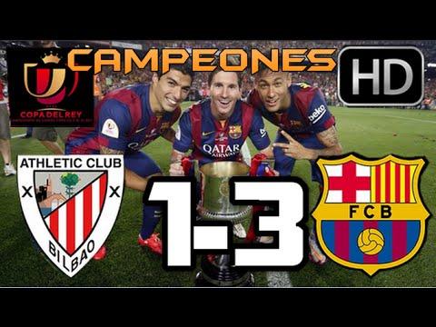 Athletic de Bilbao vs Barcelona 2015| RESUMEN Y GOLES HD| COPA DEL REY| 30-mayo-2015