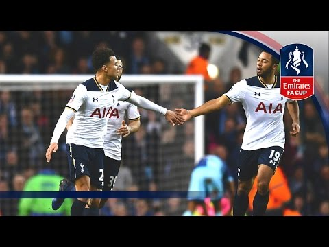 Tottenham Hotspur 4-3 Wycombe Wanderers - Emirates FA Cup 2016/17 (R4) | Official Highlights
