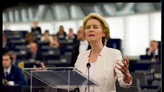 #EPlenary: statement by Ursula von der Leyen as candidate for EC President