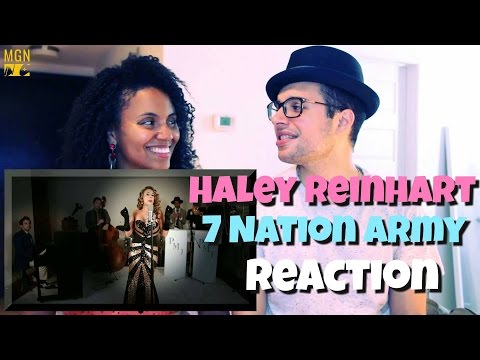 Haley Reinhart sings ' 7 Nation Army' Vintage Reaction