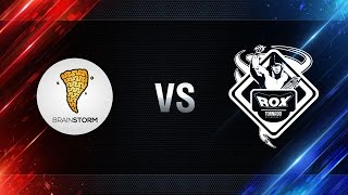 Brain Storm vs TORNADO.ROX REBORN - day 3 week 8 Season I Gold Series WGL RU 2016/17