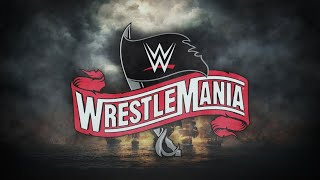 WWE Wrestlemania 36 Official Match Card HD