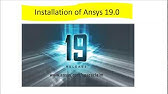 ANSYS 18 1 CRACK INSTALLATION GUIDE - YouTube
