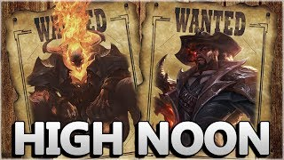 Holy sh*t... BEST Lucian Skin EVER!!! - New High Noon Lucian & Thresh Gameplay