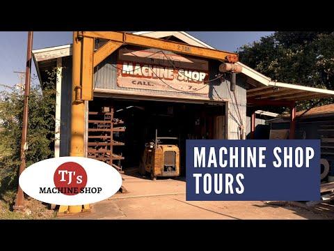 Machine Shop Tours: TJ's Machine Shop