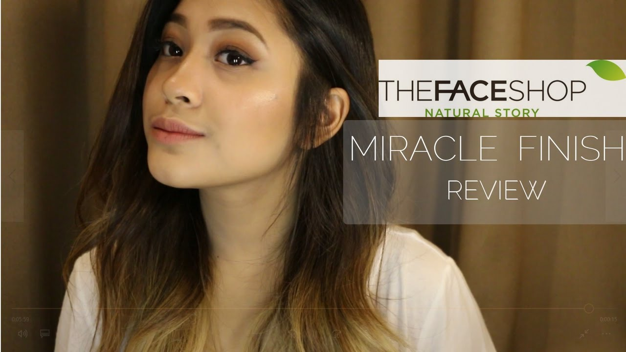 REVIEW: THE FACESHOP MIRACLE FINISH - YouTube