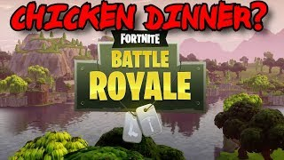 Fortnite Battle Royale: Can We Get a Chicken Dinner? (Is That Even a Thing?) :)
