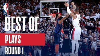 Best Plays of the 2019 NBA Playoffs | First Round Video