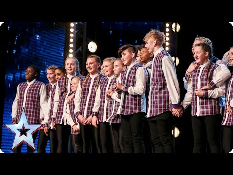 Entity Allstars are a hip hop, skip and a jump away from a golden buzzer!| Britain's Got Talent 2015