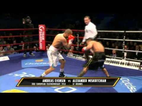 Alex Miskirtchian vs Andreas Evensen