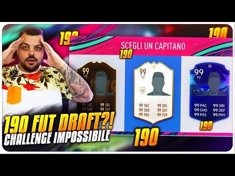 99,9 % IMPOSSIBILE 190 FUT DRAFT CHALLENGE SU FIFA 19 !