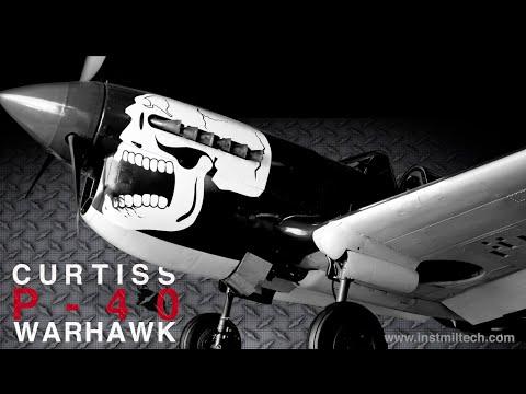 WWII - Curtiss P-40 Warhawk sinks enemy Destroyer - MTO - 4K