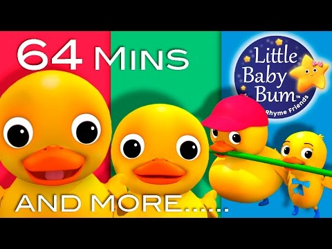 Six Little Ducks  Plus Lots More Nursery Rhymes  64 Minutes Compilation from LittleBaBum!