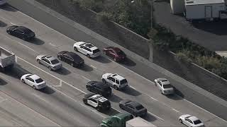 10/25/18: Freeway Pursuit Ends in Pit Maneuver - Unedited