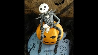 How To Make Jack Skellington (Nightmare Before Christmas) Out Of Fondant