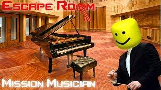 Worst Nightmare w/Dapuncake (Roblox Escape room #3) Mission Musician Walkthrough