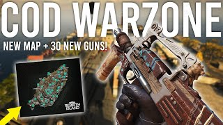 Call of Duty Warzone! New Map and 30 New Guns Gameplay!