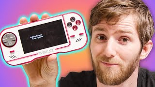 I can't believe this costs $100!!! - EVERCADE Handheld Console