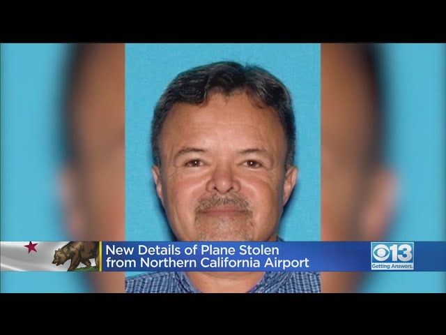 Central California Police Believe Missing Man Stole Airplane That Vanished Over Pacific